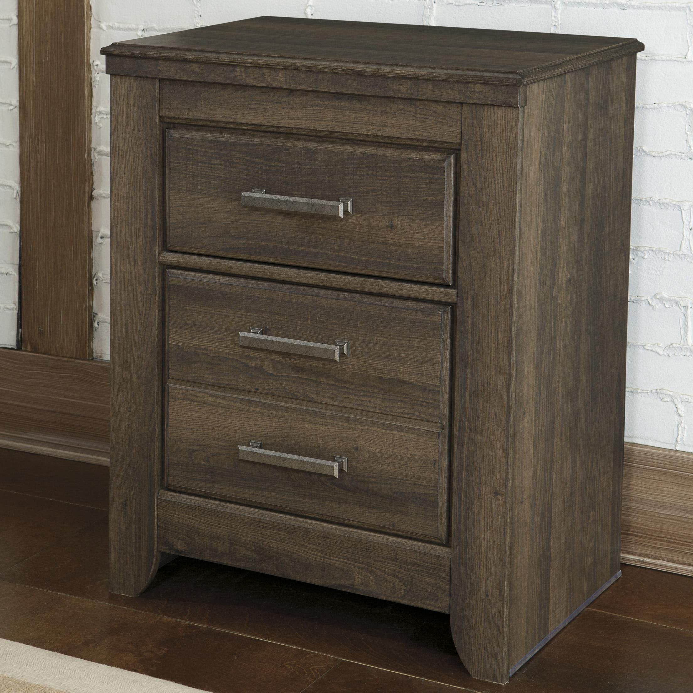 sawyer 2 drawer night stand by signature design by ashley bedroom