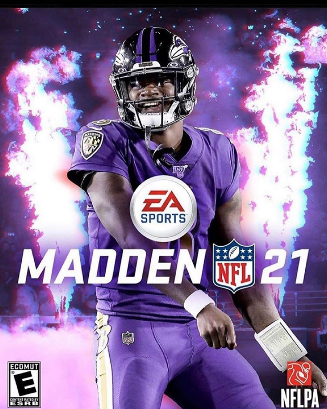 Lamar Jackson Fan Page On Instagram Do Y All Think Lamar Will Be The Cover On Madden 21 I Th In 2020 Baltimore Ravens Football Ravens Football Nfl Football Pictures