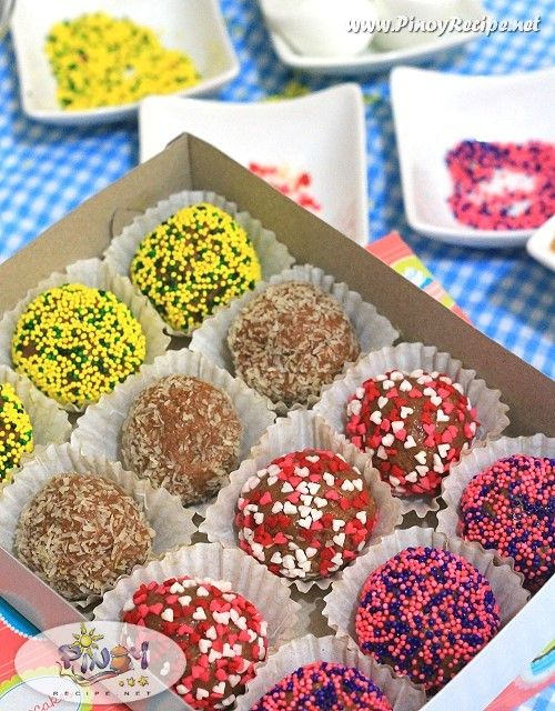 how to make sweet balls