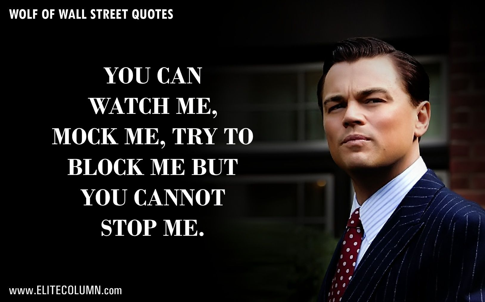 12 epic leonardo dicaprio quotes from the wolf of wall on wall street id=25371