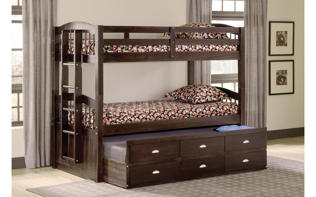 Maddock Twin over Twin Captain's Bunkbed Bunk beds, Twin