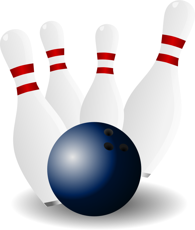 13+ Bowling pin and ball clipart info