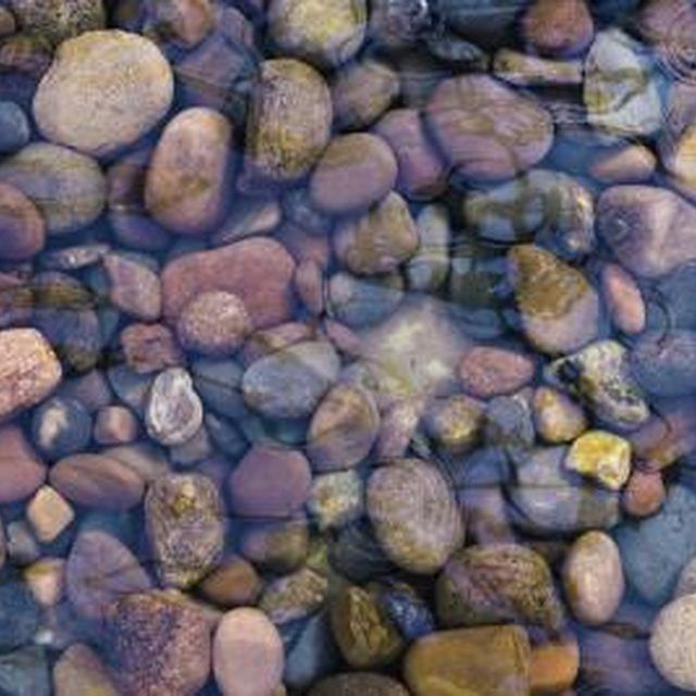River Rock Kitchen: How To Make My Own River Rock Countertops