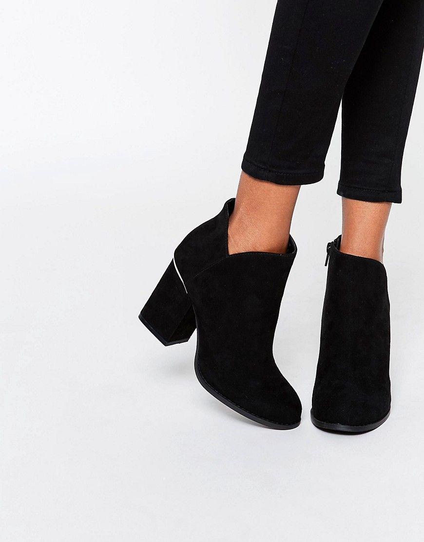 Image 1 ofASOS ENDURE Hardware Ankle Boots