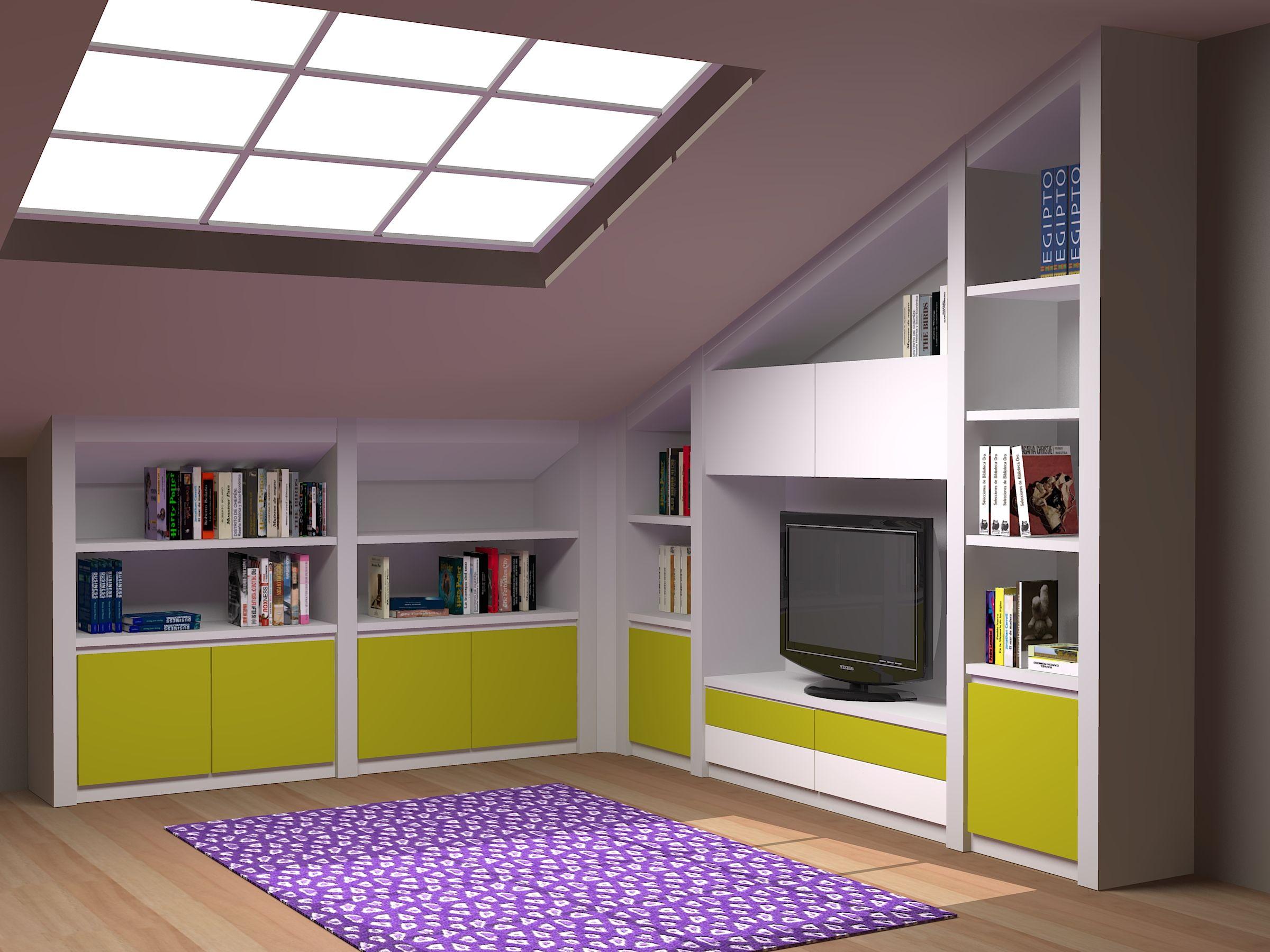 Muebles Para Buhardilla Completamente A Medida Todo Tipo De  # Muebles Buardilla