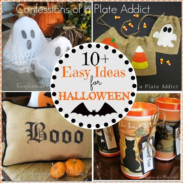 Photo of 10+ Easy Ideas for Halloween