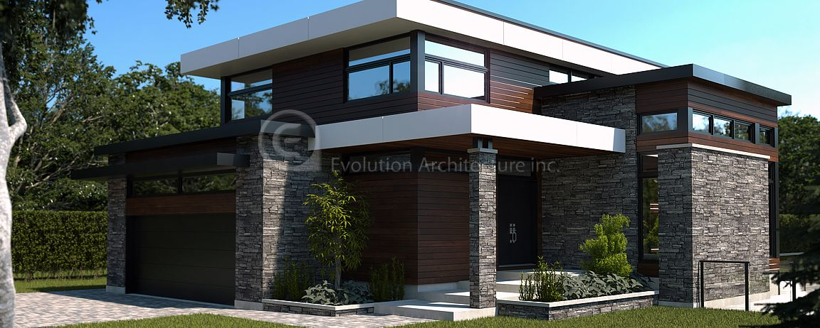 Evolution architecturemodern houseexclusive creation e 789