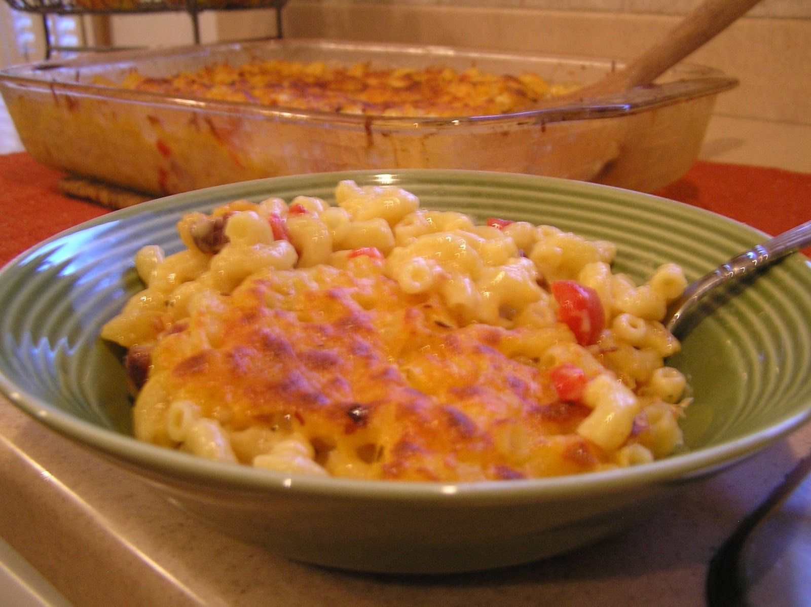 Photo of Spicy Tasso Mac N Cheese with Roasted Red Peppers – CAJUN FOOD  Check out the Te…