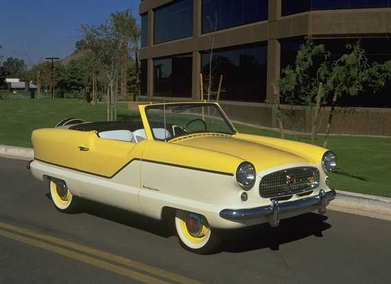 Image result for '57 Nash Metropolitan Coupe
