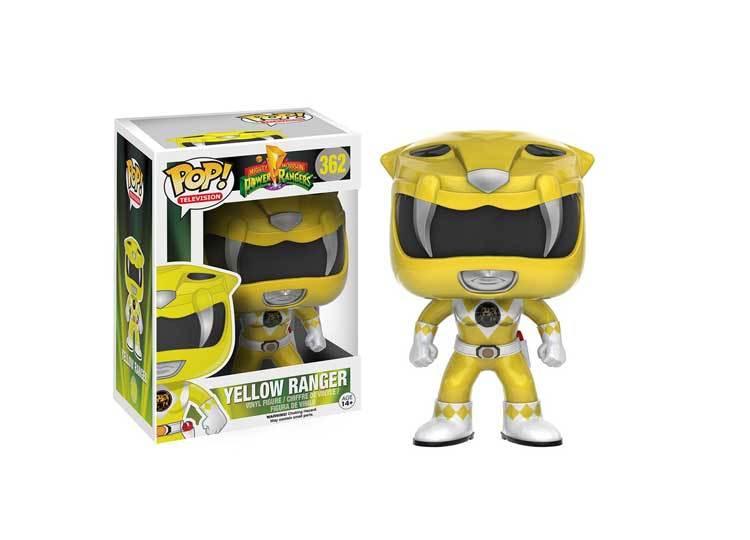 Funko Power Rangers POP Yellow Ranger Vinyl Figure NEW Toys Original IN STOCK