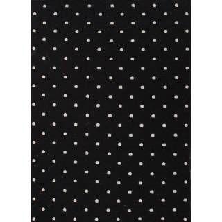 Check out the Jaipur RUG10260 Maroc Flat-Weave Geometric Pattern Wool Black/Ivory Ebony Area Rug