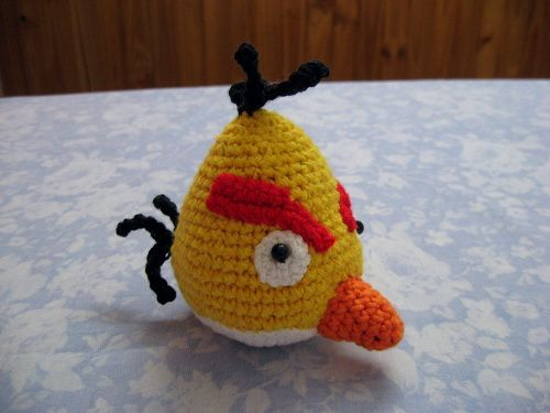 Tutorial Amigurumi Angry Bird : Patron amigurumi angry bird kalulu for