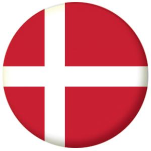 Denmark Country Flag Badge Magnet Keyring Mirror Bottle Opener