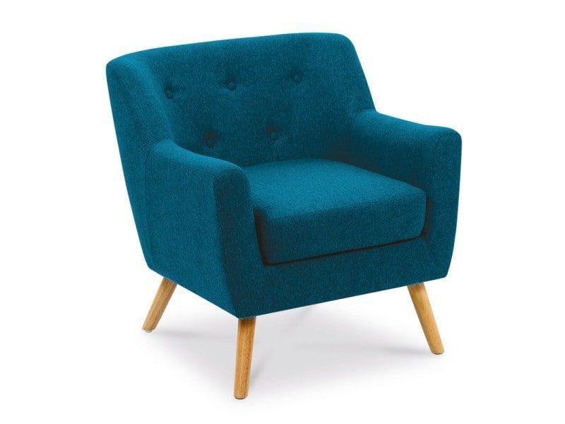 Conforama Fauteuil Scandinave En Tissu Bleu Canard Fauteuil Scandinave Fauteuil Bleu Canard Fauteuil Design Scandinave