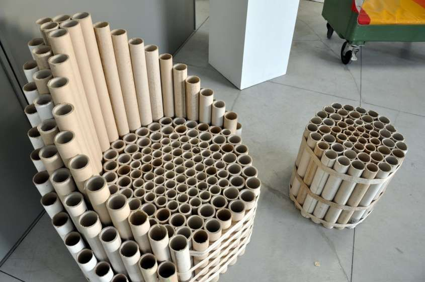 tubes chair More  MyKingList com is part of Cardboard furniture -