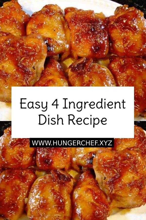 Easy 4 Ingredient Dish Recipe For Dinner images