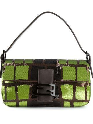 24872fd05e50 Fendi  baguette  Shoulder Bag - Stefania Mode - Farfetch.com