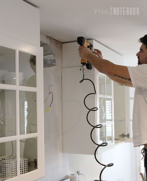 Kitchen Soffit Ideas: DIY: How To Disguise A Kitchen Soffit