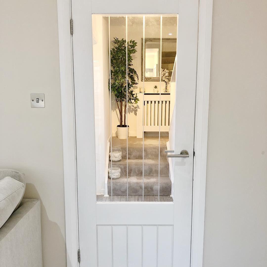 Dordogne Primed Glazed Internal Door Internal Cottage Doors White Internal Doors Internal Glass Doors