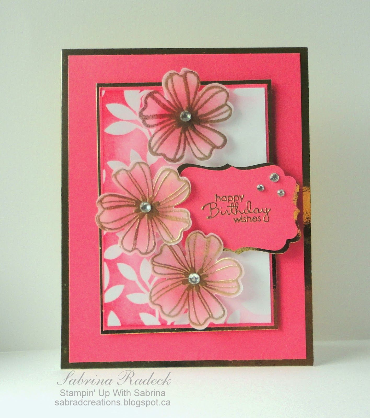Stampin up with sabrina foil vellum irresistibly yours theres something a little more classy and elegant when using foil cardstock on a project not long ago i created a valentine card using st kristyandbryce Choice Image