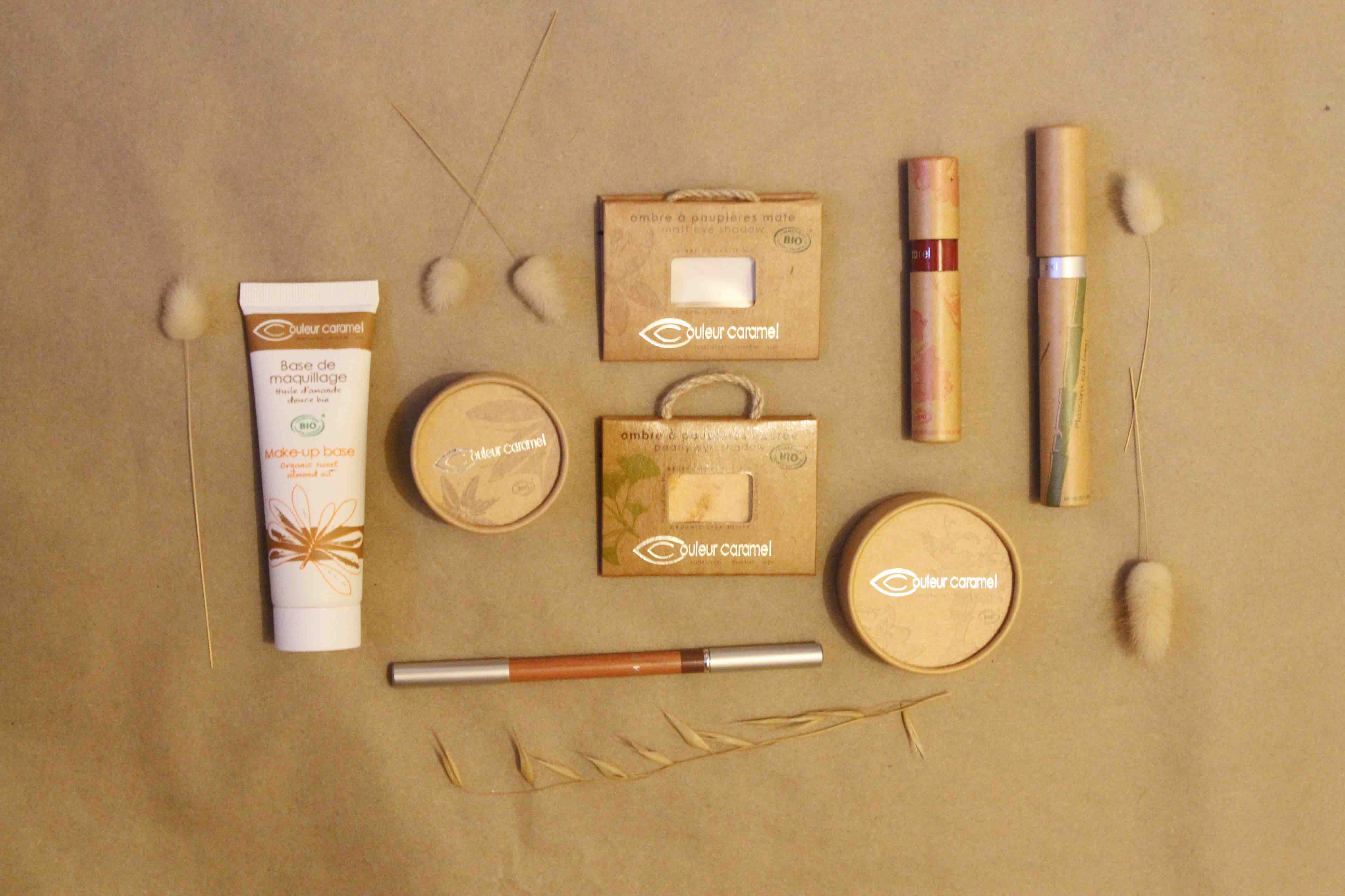 Love Organic Beauty. Couleur Caramel review.