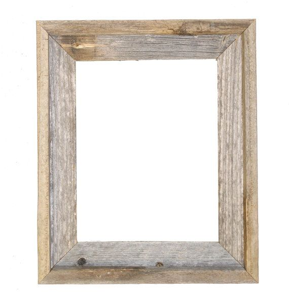 11x14 Picture Frames Barnwood Reclaimed Wood Open Frame No Glass Or Back In 2020 Barn Wood Frames Reclaimed Wood Picture Frames Rustic Frames