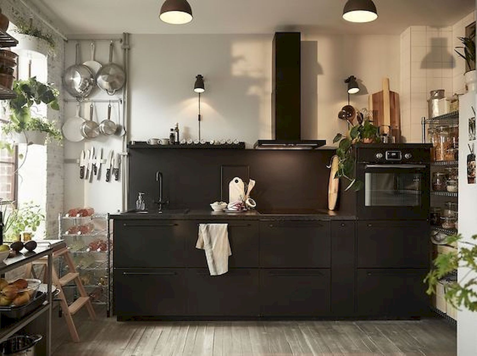 30 Amazing Black Kitchen Ideas You Will Love Ikea