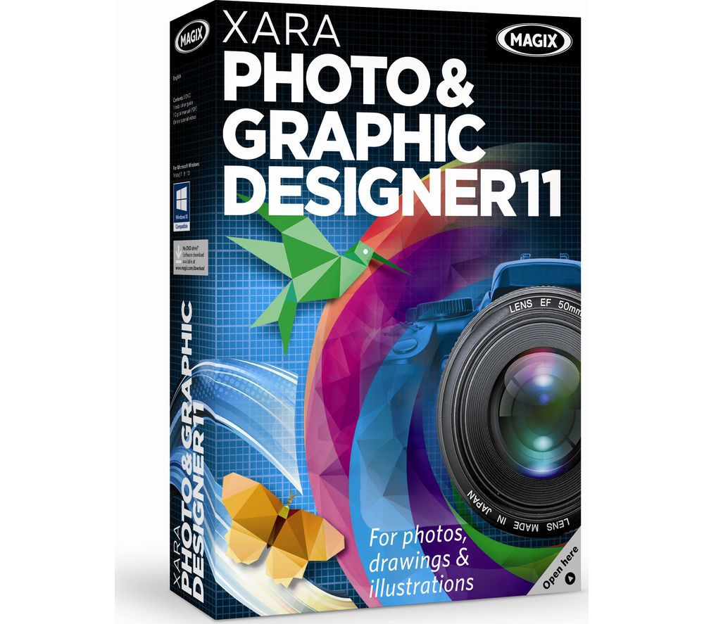 Magix Xara Photo Graphic Designer 11 Turn Simple Snapshots Into