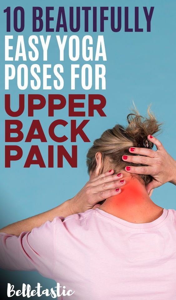 10-Minute Easy Yoga Routine to Ease Your Upper Back Pain