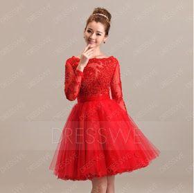 فساتين قصيرة ناعمة ٢٠١٧ فساتين بأكمام طويلة Long Sleeve Dress Victorian Dress Dresses