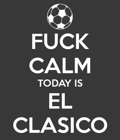 Realmadrid Barcelona Elclasico Funny Soccer Memes Soccer Funny Keep Calm