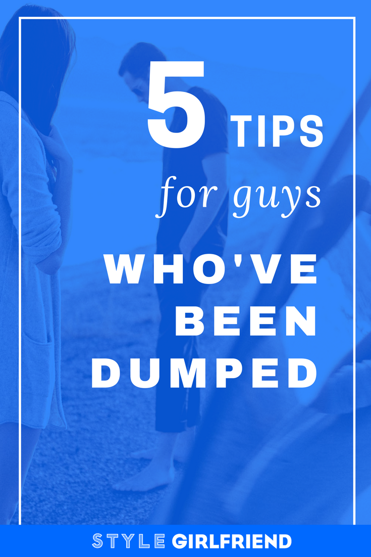 How do you get over being dumped