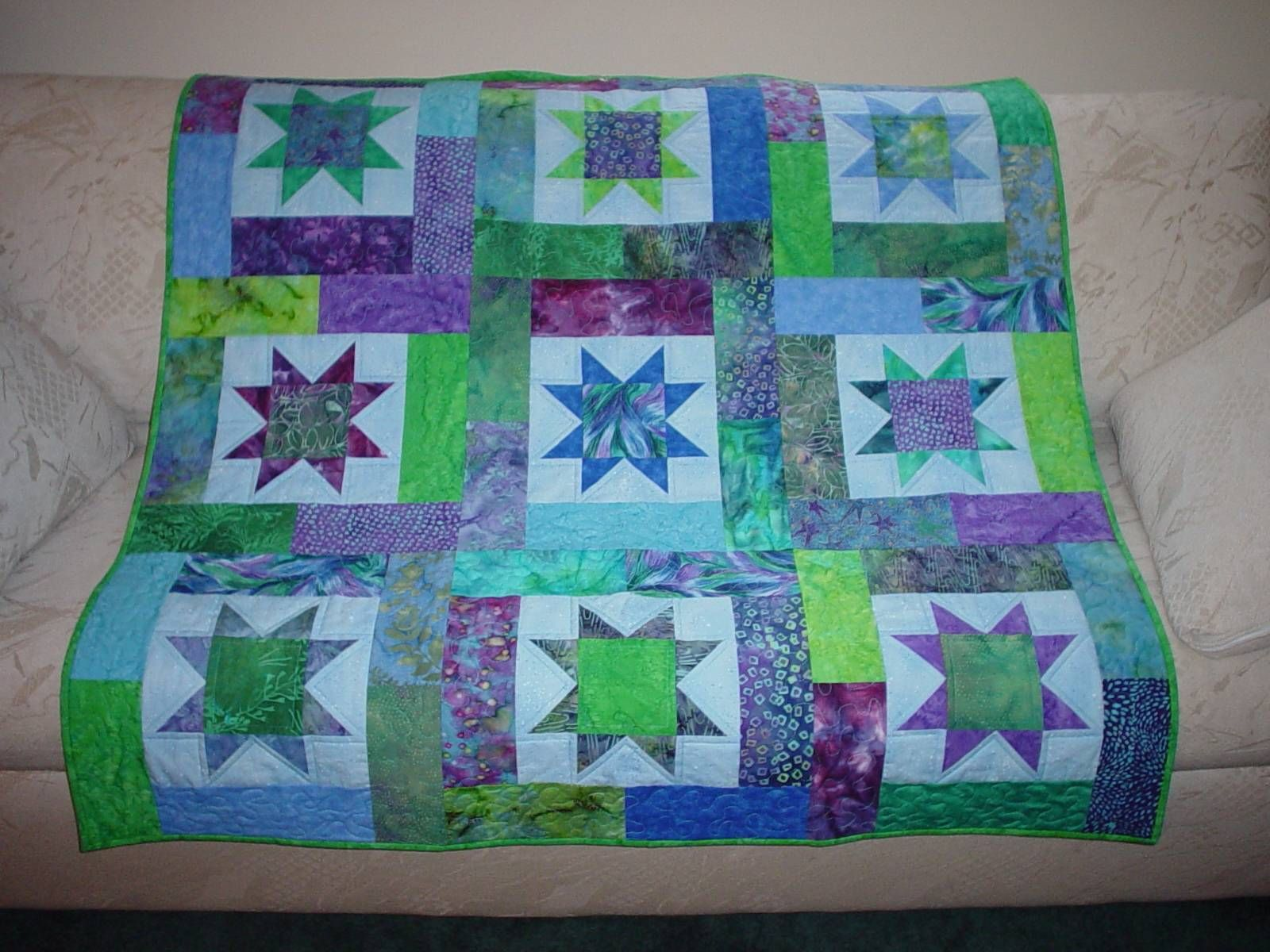 quilt patterns | Baby quilt patterns are one of the most popular ... : lucky star quilt pattern - Adamdwight.com