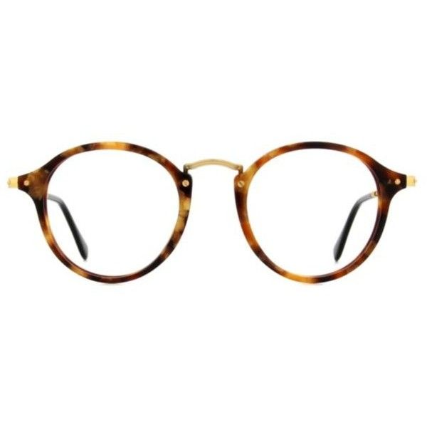 139dc6a55100d Ray-Ban RX2447V Unisex Eyeglasses ( 169) ❤ liked on Polyvore featuring  accessories