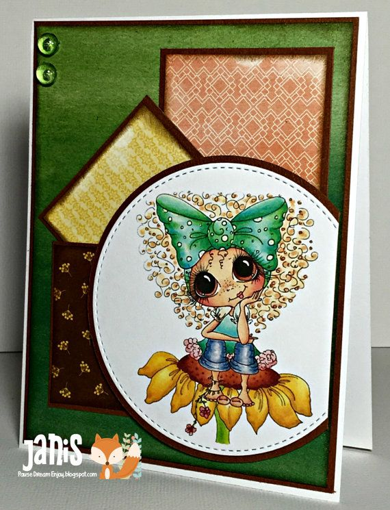 My Bestie Handmade Greeting Card