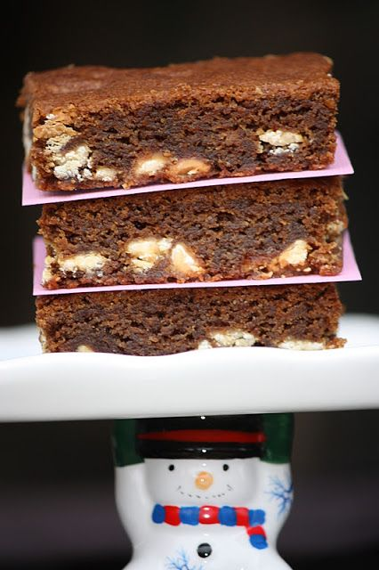 Brandy's Baking: White Chocolate Gingerbread Bars
