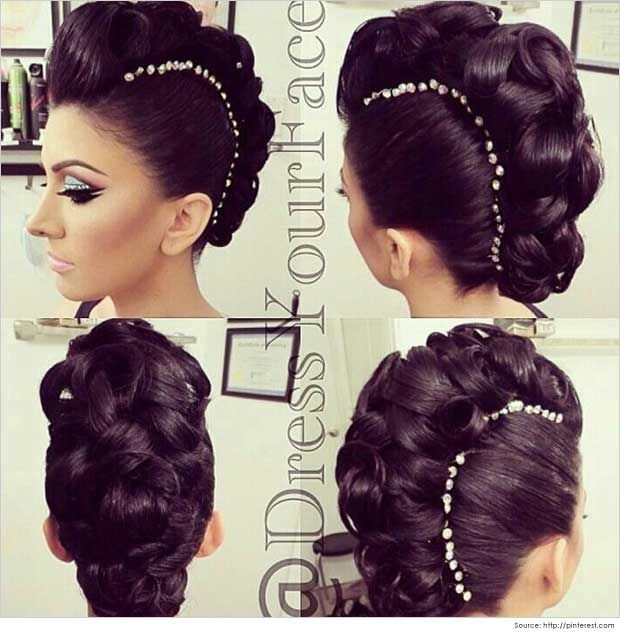Magnificent 1000 Images About Haar On Pinterest Updo Half Updo Hairstyles Short Hairstyles For Black Women Fulllsitofus