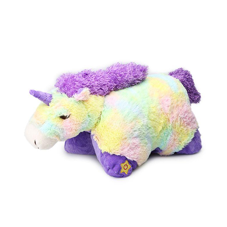 My Pillow Pets Large MYSTICAL KOALA 18 inches Purple Plush Soft Toy Colorful Pluszaki Zabawki