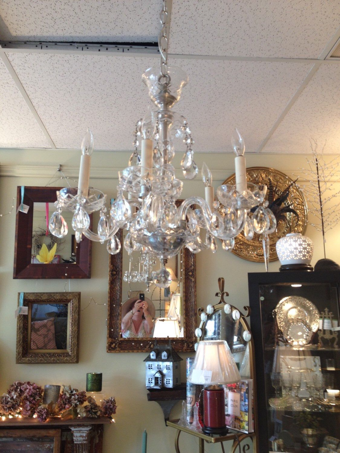 A Personal Favorite From My S Com Austrian Crystalcrystal Chandelierscopper