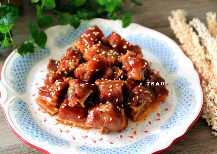 蜜汁排骨 Recipe Recipes Food Breakfast