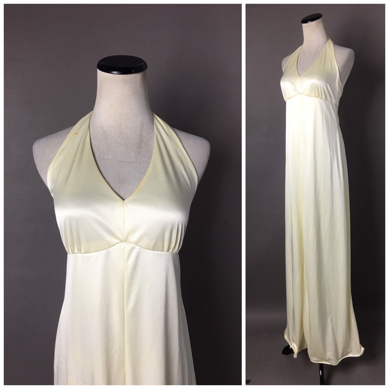 Vintage 70s Dress 1970s Dress Ivory Dress Maxi Dress Etsy Vintage Dress 70s Cocktail Dress Prom Maxi Dress Cocktail [ 3000 x 3000 Pixel ]