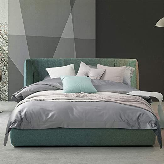 Photo of Teerwere Lightweight Bed Cover Set Four Sets Bedding Long-Staple Cotton Simple B…
