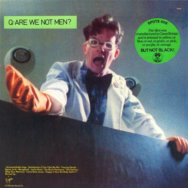 Devo Lp Are We Not Man 1978 Are We Not Men Men Album