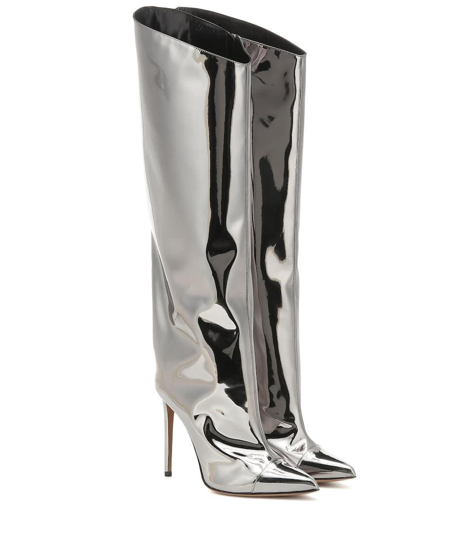 alexandre vauthier pink boots