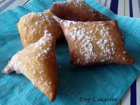 Dey cuisine: Bottereaux - les beignets de carnaval!
