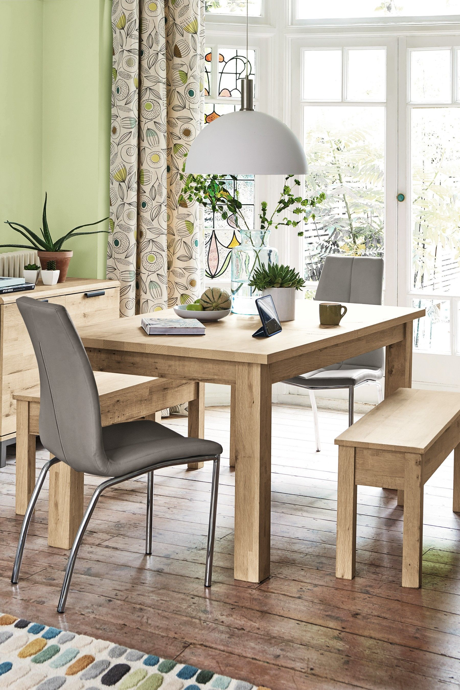 c35c6d733f0 Next Bronx Light Dining Table And Bench Set - Natural