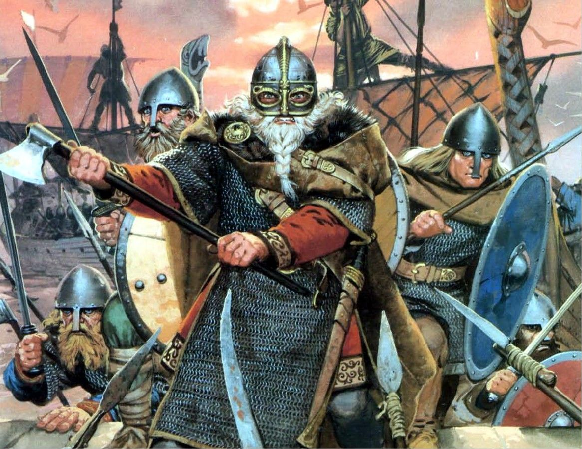 Image result for ancient vikings angus mcbride
