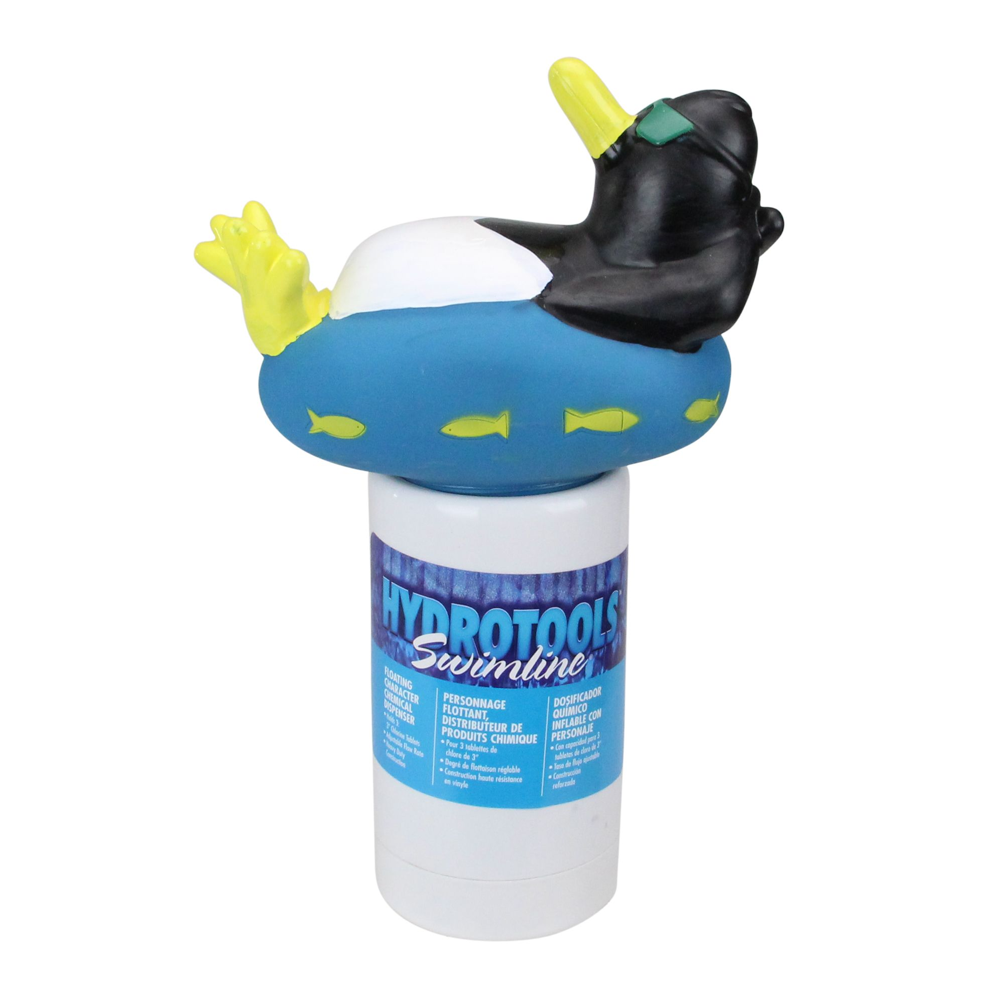 13 Blue And White Cool Penguin Swimming Pool Chemical Dispenser Swimming Pool Chemicals Pool Chemicals Swimming Pools