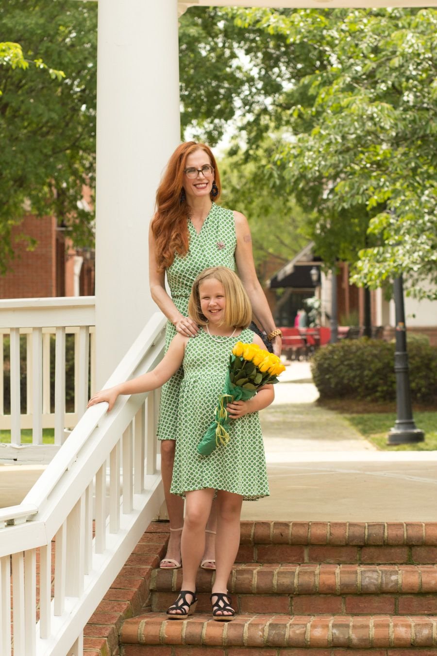 a39ff57c48 Turning Heads Linkup – Mommy ( Aunt) and Me Dresses by Karina Dresses