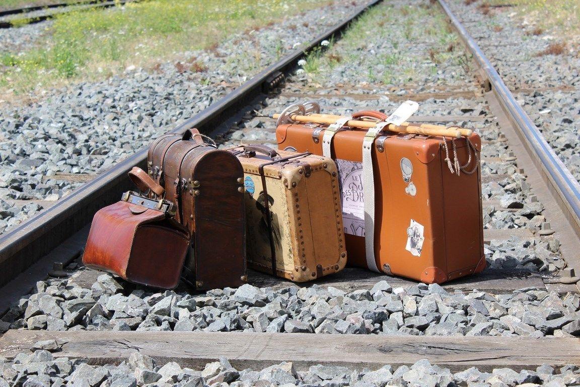 Valises Retro Train Ferroviaire Valise Retro Victorien